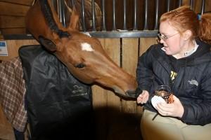 A ló kedvenc csemegéje