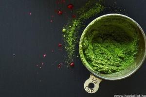Hogyan használjuk az öregedés lassítására a matcha teát?